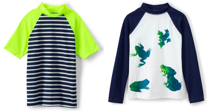 Land's End: 40% Off Swimwear Including Clearance = Boy's Rash Guard Only $8.99