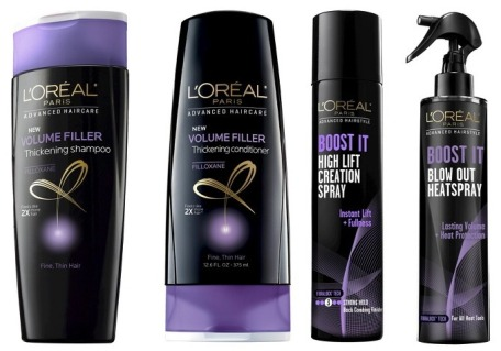 L'Oreal Advanced hair products