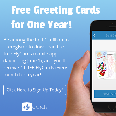 Score FREE Greeting Cards For ONE Year