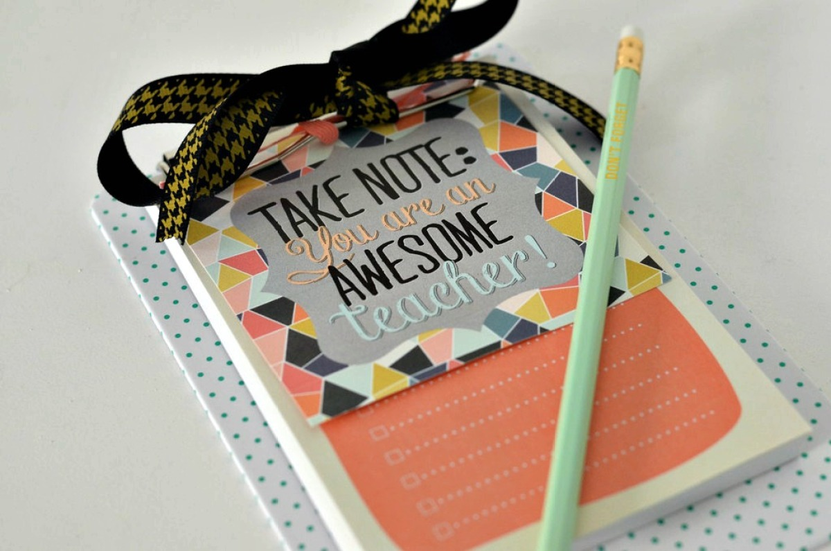 teachers gift with printable