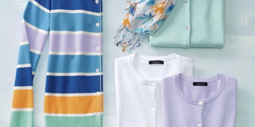 Lands End: 40% Off Knit Tops And Sweaters = Men's & Women's Sweaters Only $11.99