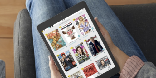 FREE 30-Day Trial Of Unlimited Digital Magazines (Consumer Reports, TIME, People & More)