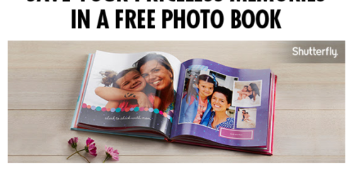 My Coke Rewards: Enter 1 Code = Free 8×8 Shutterfly Photo Book ($29.99 Value)