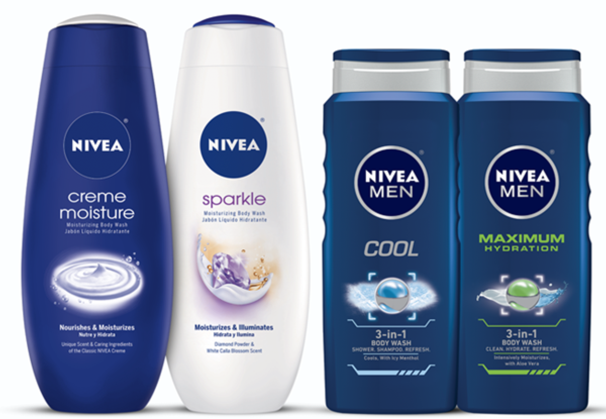 image about 3.00 Off Nivea Printable Coupon known as Fresh new $3/2 Nivea Overall body Clean Goods Coupon - Hip2Preserve