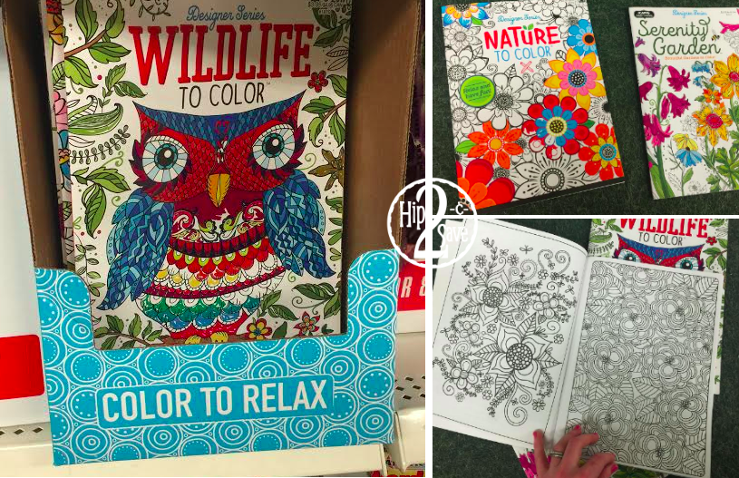 - Dollar Tree: Adult Coloring Books ONLY $1 - Hip2Save
