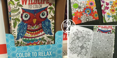 Dollar Tree: Adult Coloring Books ONLY $1