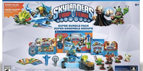 Amazon: Skylanders Trap Team Bundle Pack for PlayStation 4 Only $29.92 (Reg. $99.99)