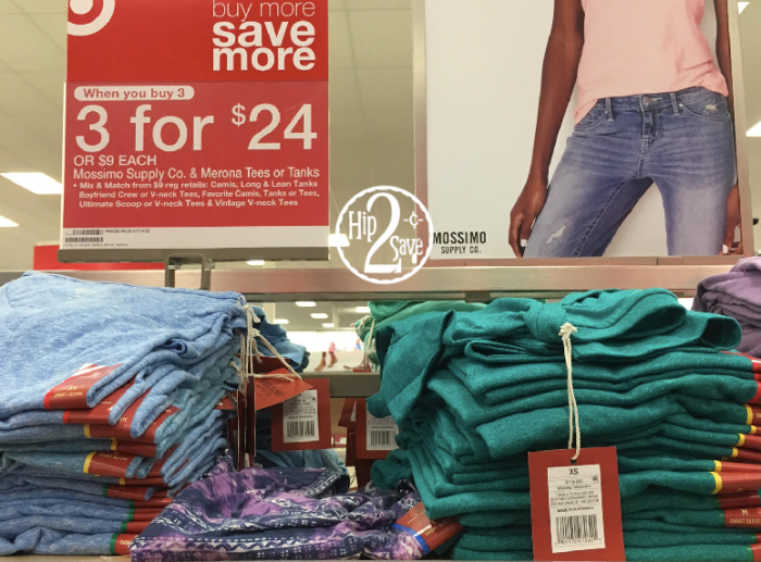 4c2f6715785363 Target  Mossimo Tees   Tanks ONLY  4 Each (Regularly  10) - Hip2Save