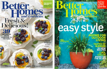 Free Better Homes & Gardens Magazine Subscription