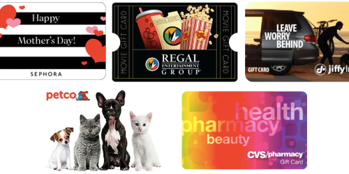 $30 Sephora Gift Code Only $25, $50 Regal Gift Card Only $40 + More Deals