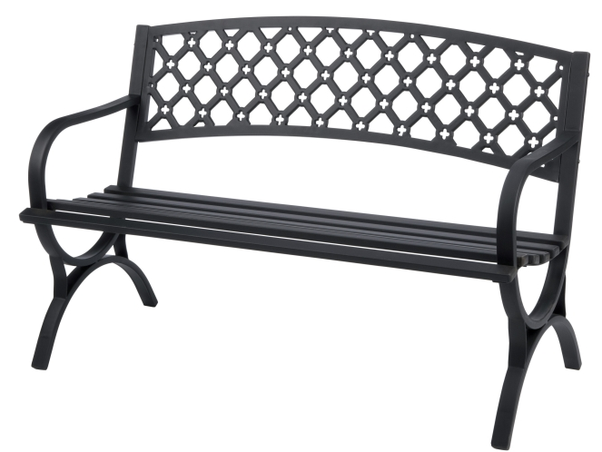 Ace Hardware Steel Park Bench Only 59 99 Hip2save