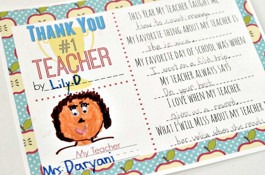 picture about All About My Teacher Free Printable named 10 Instructor Present Tips w/ No cost Printable Present Tags - Hip2Preserve