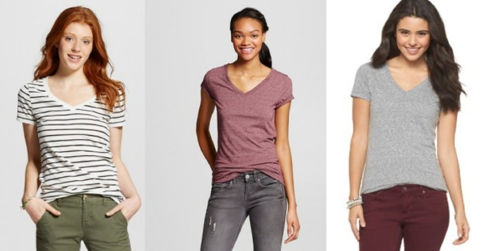 ff6ba855ff530a Target.com  Women s Mossimo Tees   Tanks Starting at  4.26 Each ...