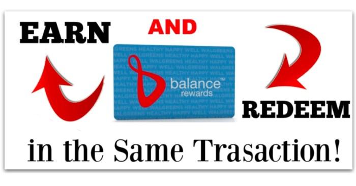 Walgreens Balance Rewards Points