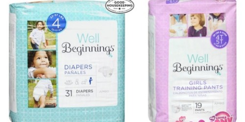 Walgreens: Buy 1 Get 1 Free Well Beginnings Diapers and Training Pants (In-Store & Online)