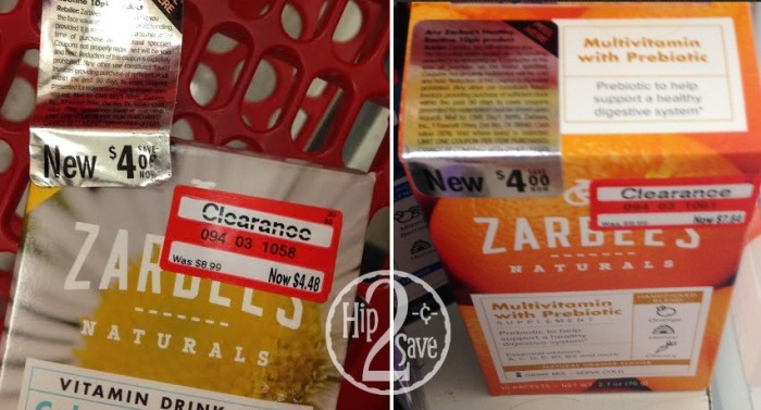 Target Clearance Zarbee S Naturals Multivitamin Drink Mix