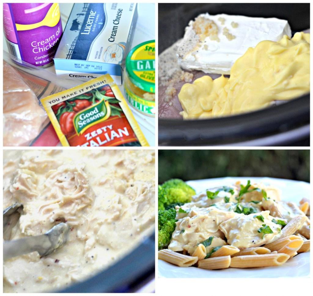 slow cooker chicken ingredients