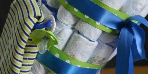 10 Diaper Cake Tutorials (Fun Baby Shower Gift)