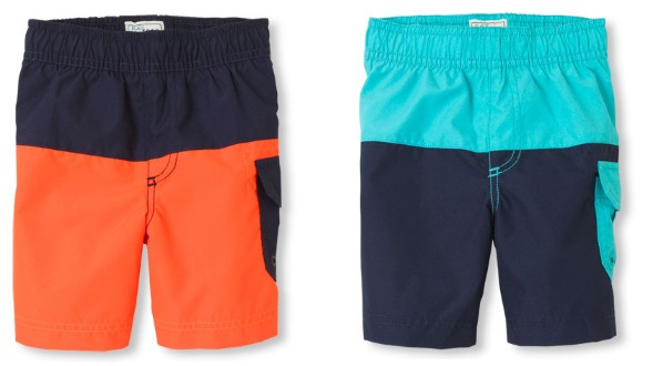 ff92b45b37 Boys Swim Trunks. Boys Swim Trunks. Hop on over to The Children's Place  where they are offering 50% off their entire site ...