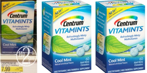 Target: Centrum VitaMints 60 Count Multivitamins Only $1.49 Each (After Gift Card)