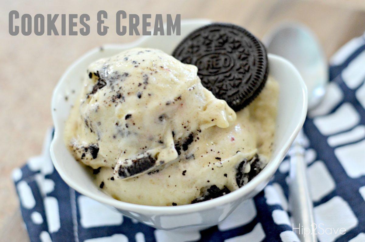 Cookies and Cream Frozen Dessert Hip2Save.com