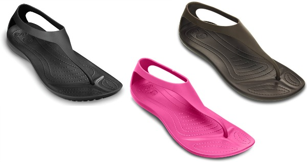 a3505baa6755 Crocs Sexi Flip Womens Flip Flops Only  14.99 Shipped (Regularly ...