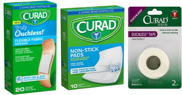 0 75 1 Curad Bandage Gauze Or Tape Coupon Better Than Free Items At Walmart Dollar Tree Hip2save