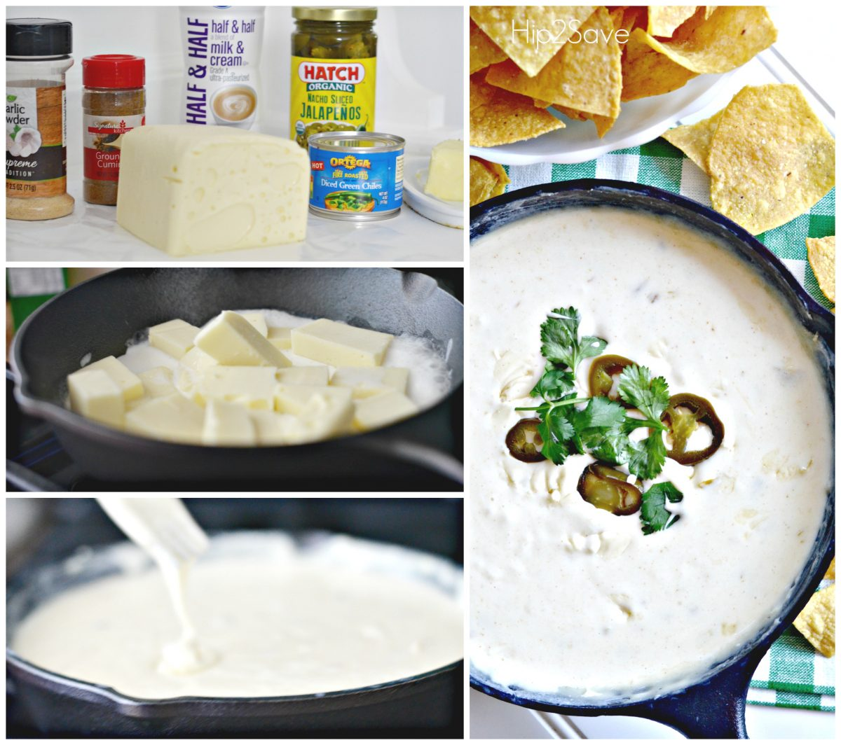 Easy Queso Dip Appetizer Hip2Save.com
