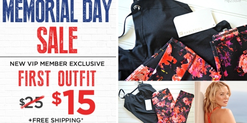 Fabletics: 1st Activewear Outfit Only $15 Shipped