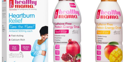 Free Healthy Mama Heartburn Relief Antacid AND Protein Energy Drink Printable Coupons