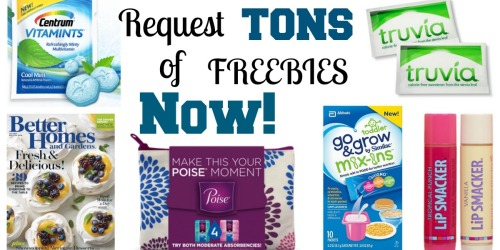 Freebies Round-up: FREE Go & Grow Mix-ins, Magazines, Trivia Sweetener & More