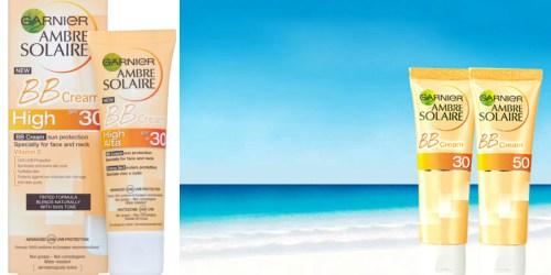 Toluna: *NEW* Product Testing Opportunity to Test Garnier BB Sun Cream