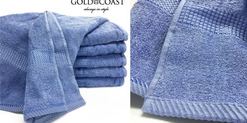 Gold Coast Quick Dry Extra Large Bath Towels As Low As $4.66 Each Shipped