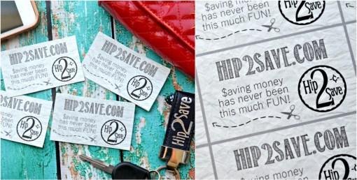 Hip2Save Contact Cards to Print