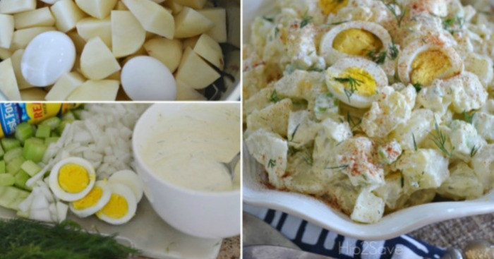 How to Make Potato Salad in the Pressure Cooker by Hip2Save.com