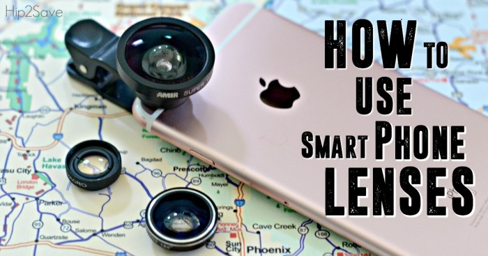 How to Easily Use Smart Phone Lenses