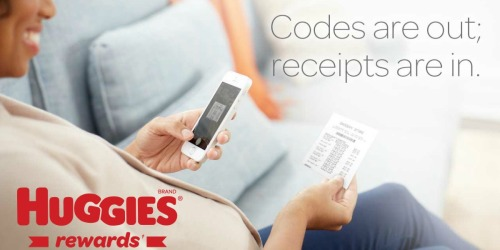 Huggies Rewards: New Program Launching – Enter Your Codes & Save Your Receipts