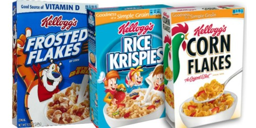 Running Low on Cereal? Stock Up With This New $3/5 Kellogg's Cereal Coupon!