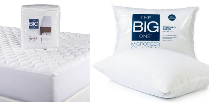 Kohl's.com: The Big One Full Size Mattress Pad AND Microfiber Pillow ONLY $13.58