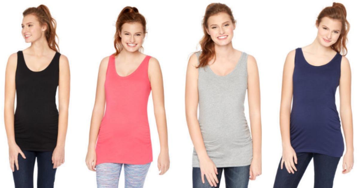 3289b612da4ee Motherhood Maternity Flash Sale: $5 Tank Tops, $10 Nursing Camis ...