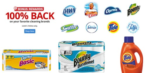 Office Depot/Office Max: Free Household Items After Rewards (Charmin, Bounty & More)