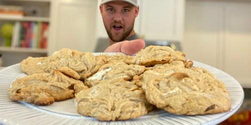 3 Ingredient Flourless Fluffernutter Cookies