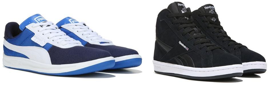 famous footwear new balance sneakers
