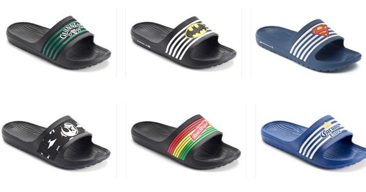 d0f2797e Kohl's: Men's Slide Sandals & Women's Juicy Couture Sandals Only $6.79 Each  - Hip2Save