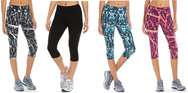 5181bc28f6 Looking for some yoga leggings? These Women's Tek Gear® Core Lifestyle  Capri Yoga Leggings (in a huge variety of styles) are marked down to just  $13.99 ...