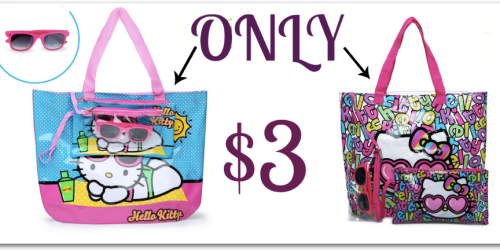 Hollar: Hello Kitty Beach Totes with Sunglasses Only $3