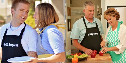 Flirty Aprons: Highly Rated Men's Grilling Aprons $13.96 Shipped (Great Father's Day Gift)