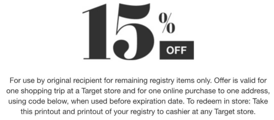 Target Baby Registry: FREE Welcome Gift ($60 Value) + 15% ...