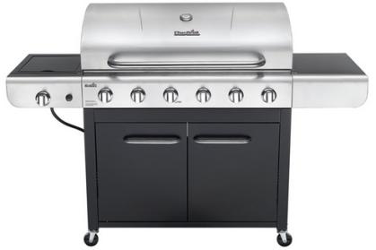 Char-Broil Advantage 6-Burner Propane Gas Grill w/ Side Burner