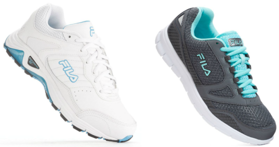 83042a33 Kohl's: Men's and Women's Fila Athletic Shoes Only $16.99 (Regularly ...